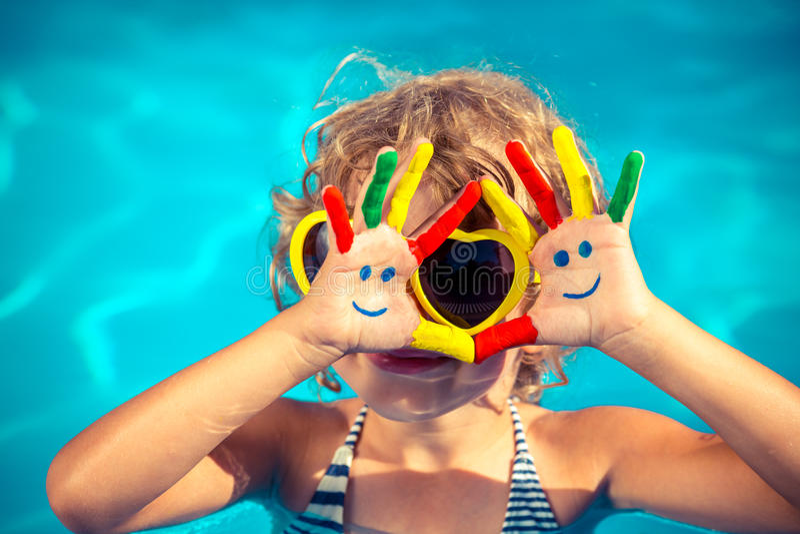 De vakantieconcept van de zomer stock fotografie