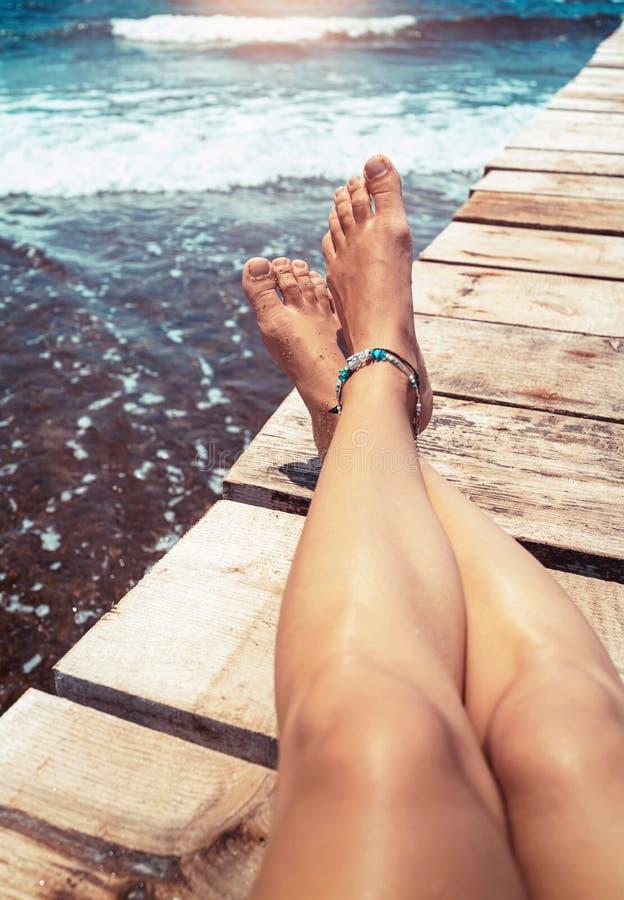 De vakantieconcept van de zomer royalty-vrije stock foto