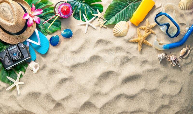 De vakantieconcept van de zomer royalty-vrije stock fotografie