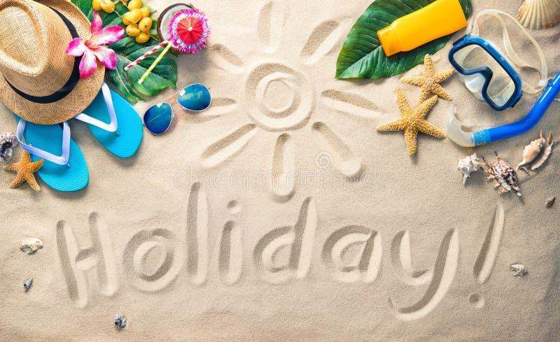 De vakantieconcept van de zomer royalty-vrije stock afbeeldingen