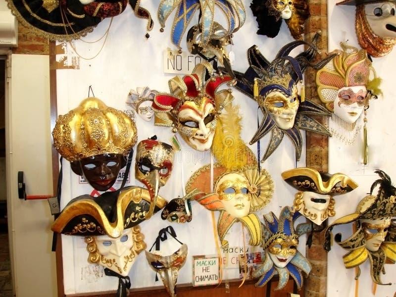 De Vakantiekanalen van Venetië Carnaval royalty-vrije stock foto
