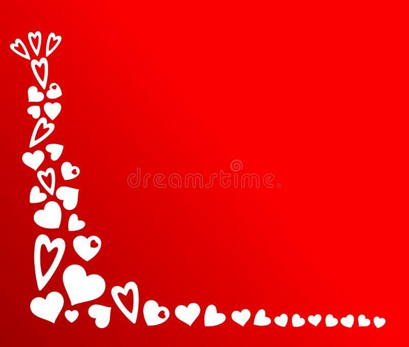 De valentijnskaarten als thema hebben stock foto's