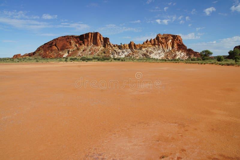 De Vallei Australië van de regenboog stock foto