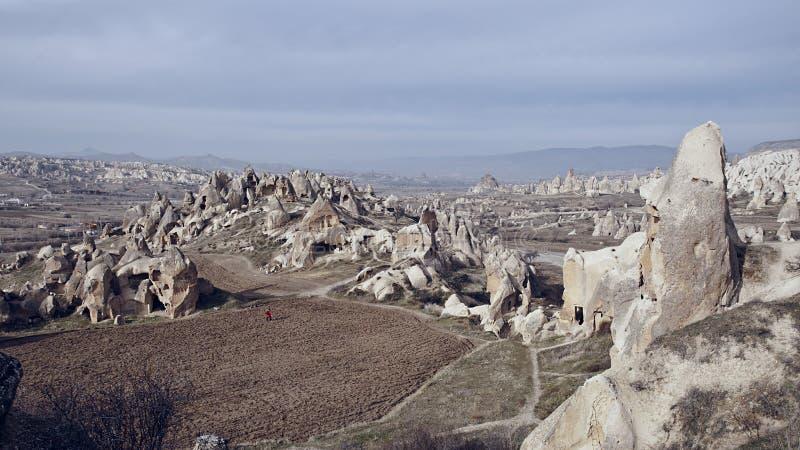 De Vallei Cappadocia van Goreme stock foto's