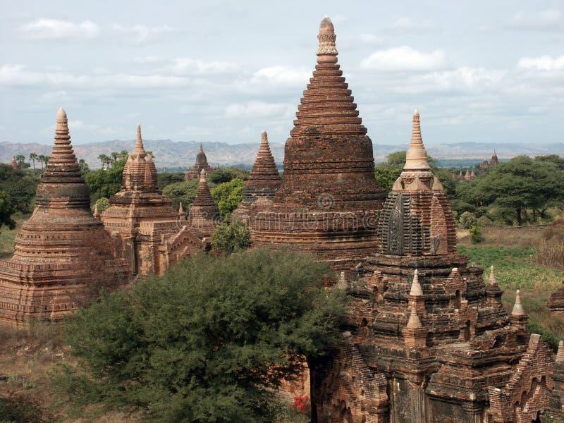 De vallei van Bagan royalty-vrije stock afbeelding
