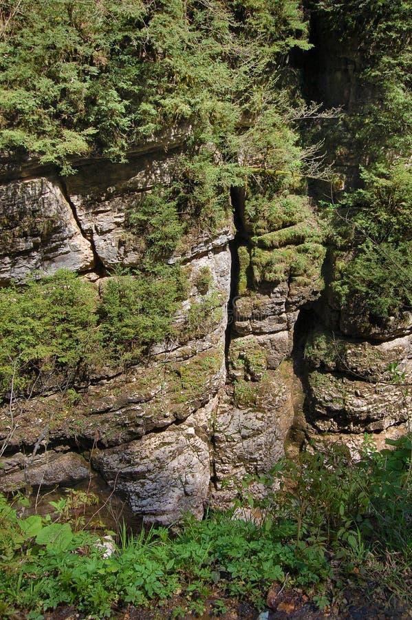De Vallei van de berg stock afbeeldingen
