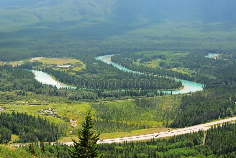 De vallei van de boog stock afbeelding