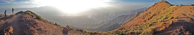 De Vallei van de de Meningsdood van Dante overziet - Panorama stock foto