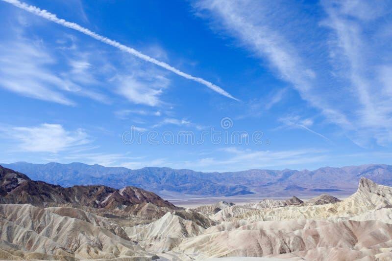 De Vallei van de dood, Californië, de V stock fotografie