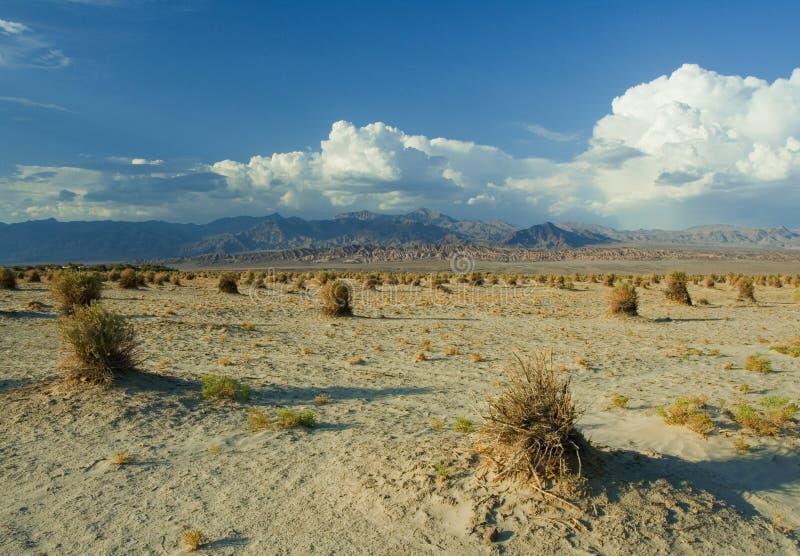De Vallei van de dood - de Duinen van het Zand royalty-vrije stock afbeelding