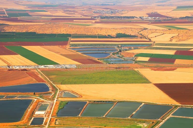 De vallei van de landbouw royalty-vrije stock afbeelding