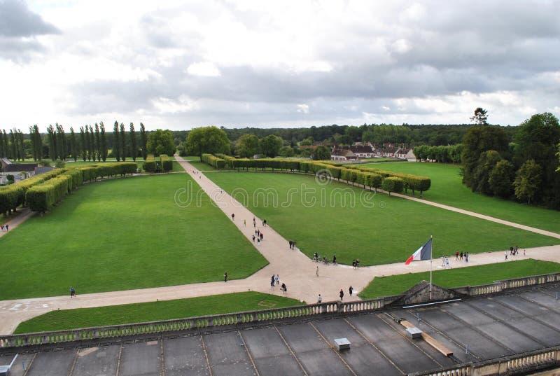 De Vallei van de Loire stock afbeeldingen