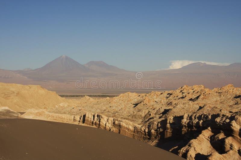 De vallei van de maan, Chili royalty-vrije stock foto