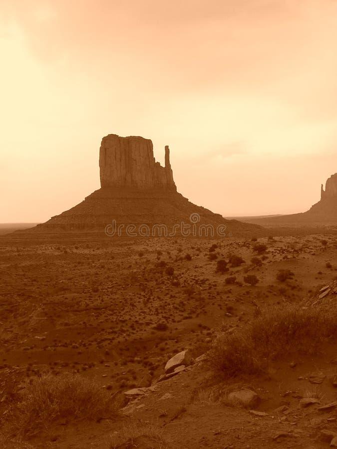 De Vallei Van Het Monument Stock Afbeeldingen