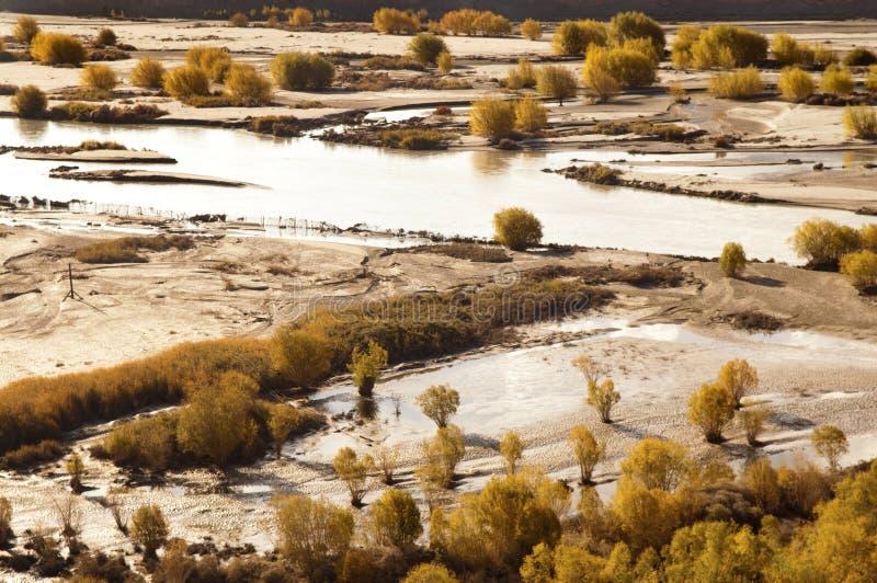 De Vallei van Indus stock afbeeldingen