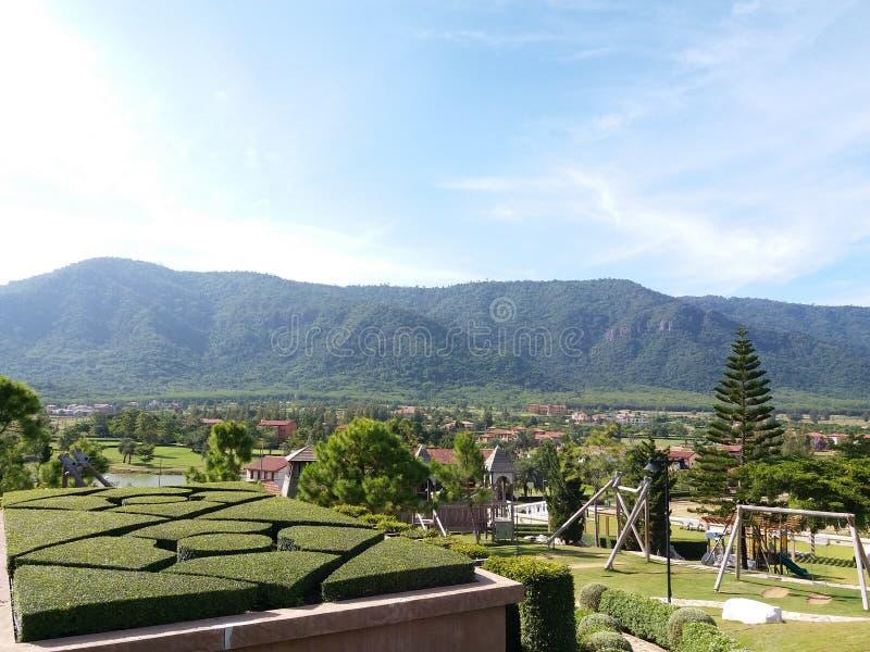 De Vallei van Toscanië stock foto's