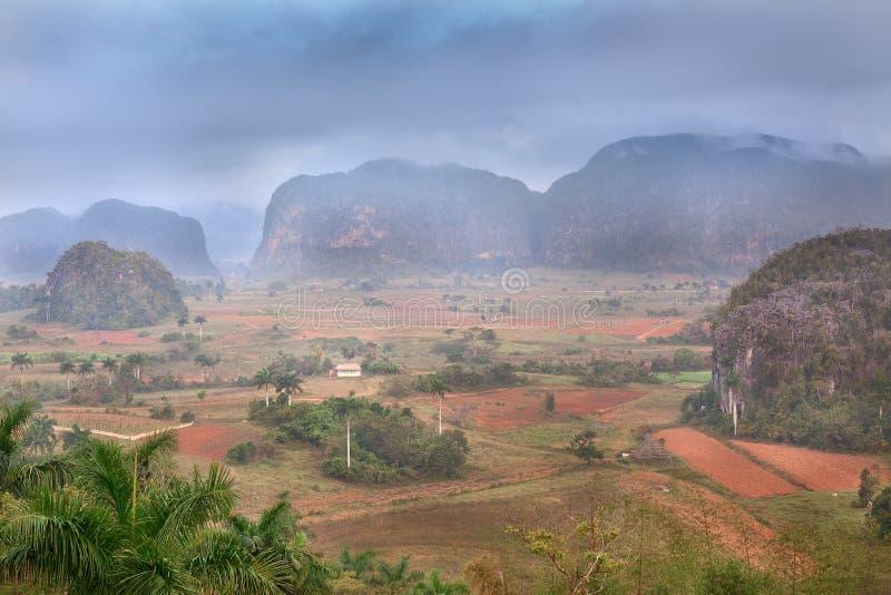 De Vallei van Vinales in Cuba royalty-vrije stock afbeelding