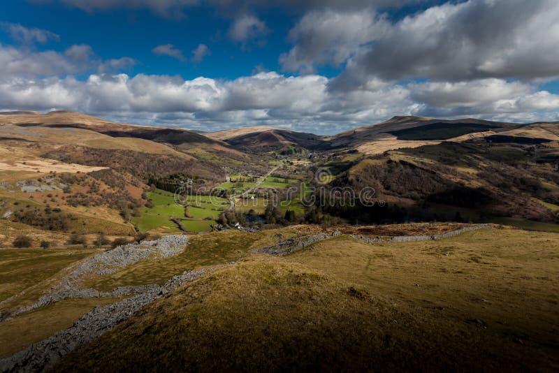 De Vallei Zuid-Wales van Swansea royalty-vrije stock afbeeldingen