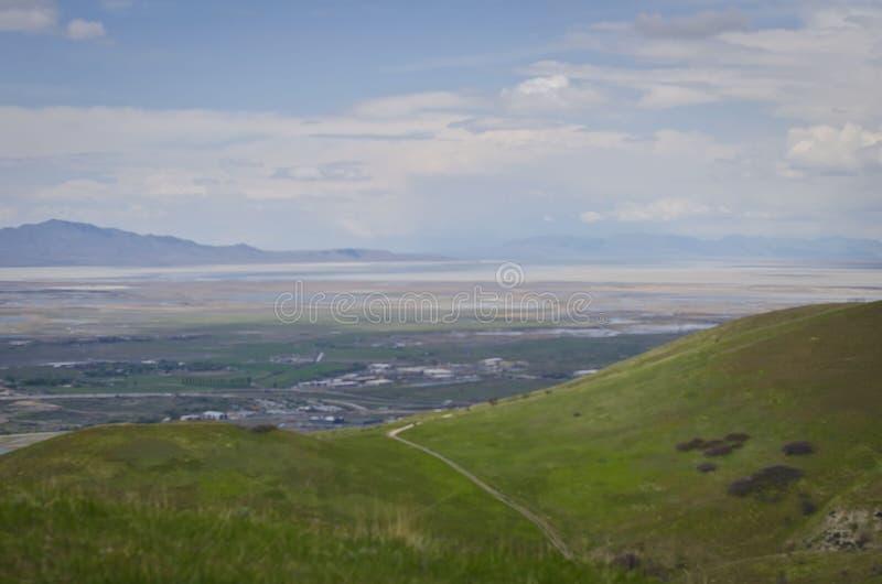 De de valleisleep van Salt Lake City royalty-vrije stock fotografie
