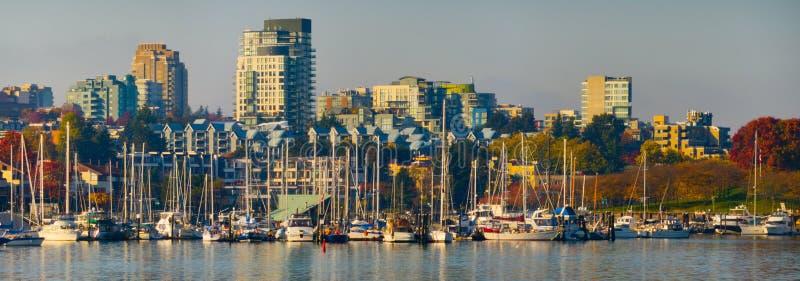 De Valse Kreek van Vancouver royalty-vrije stock afbeeldingen