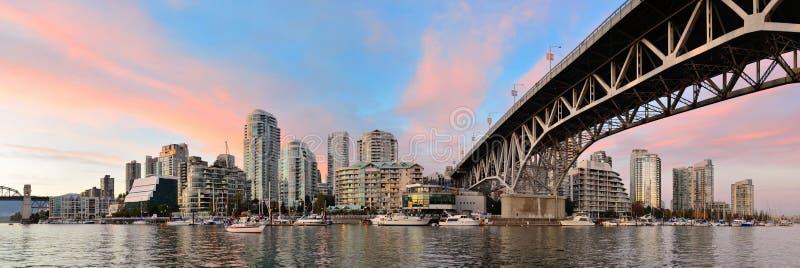 De Valse Kreek van Vancouver royalty-vrije stock foto