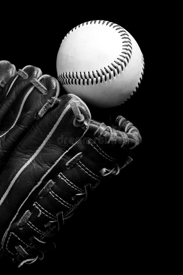 De vangst van het honkbal stock fotografie