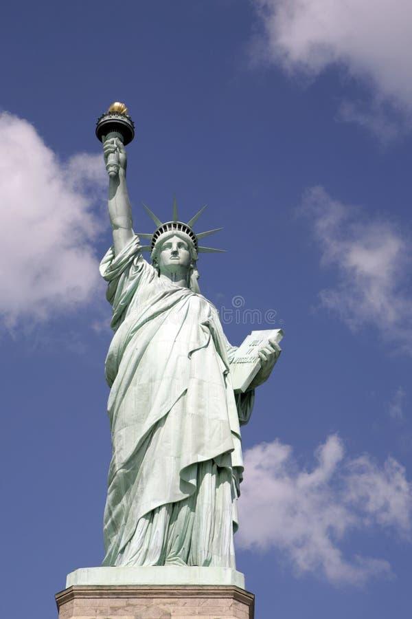 De vangst van Nice van het Standbeeld van Vrijheid royalty-vrije stock afbeeldingen