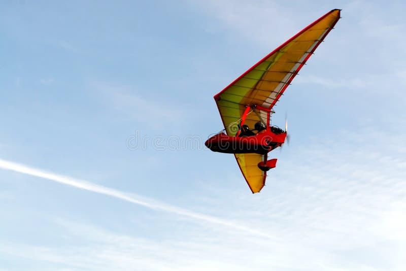 De vechter van de hemel - de lucht toont royalty-vrije stock afbeeldingen