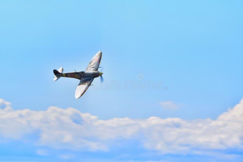 De vechtersvliegtuig van het Supermarineheethoofd royalty-vrije stock afbeelding