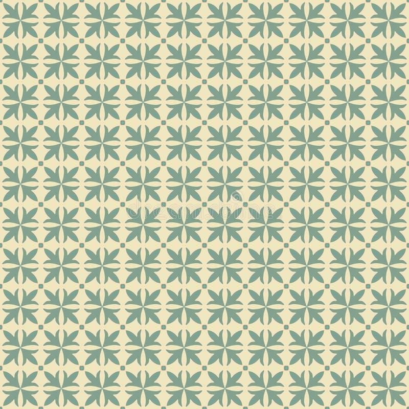 De vector achtergrond van het damast naadloze patroon De elegante luxetextuur voor behang, de achtergronden en de pagina vullen royalty-vrije illustratie