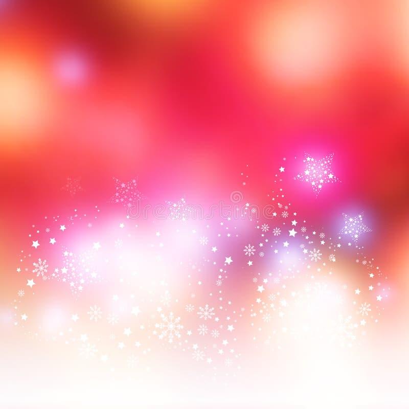 De vector Achtergrond van Kerstmis stock illustratie