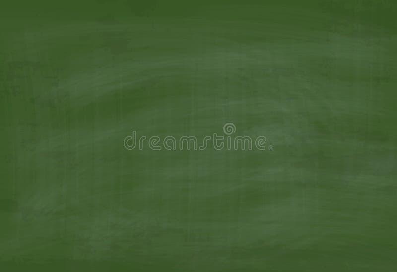 De vector Geweven Achtergrond van het School Groene Bord vector illustratie