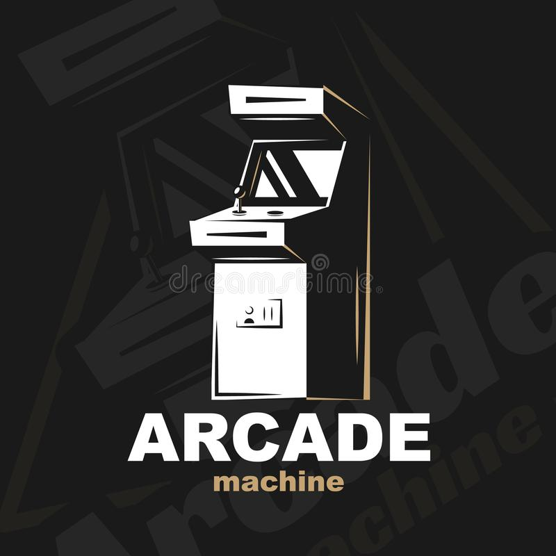 De vector van de arcademachine vector illustratie