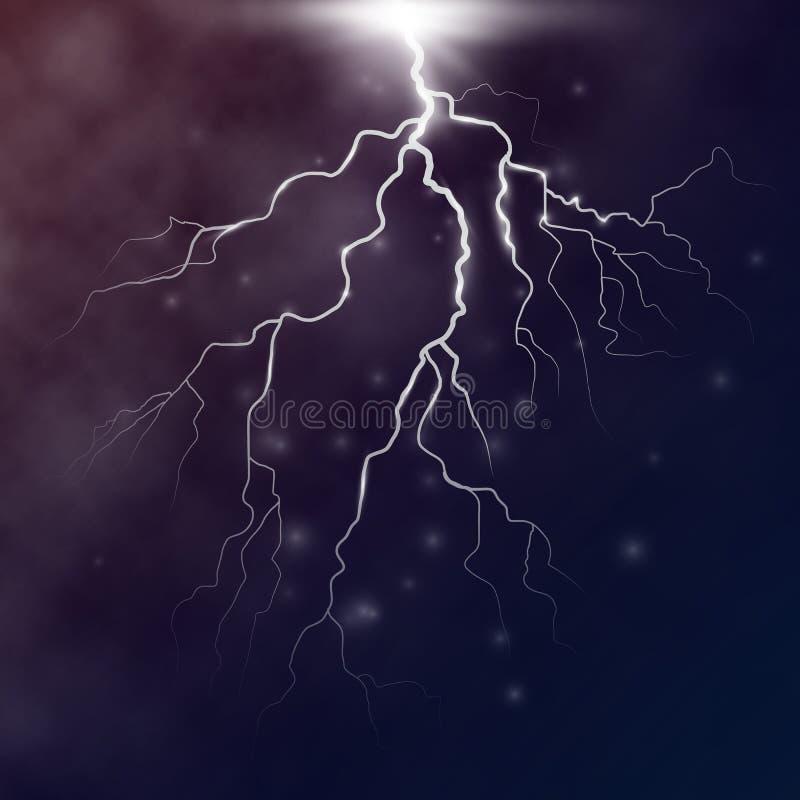 De vector van de bliksembout vector illustratie