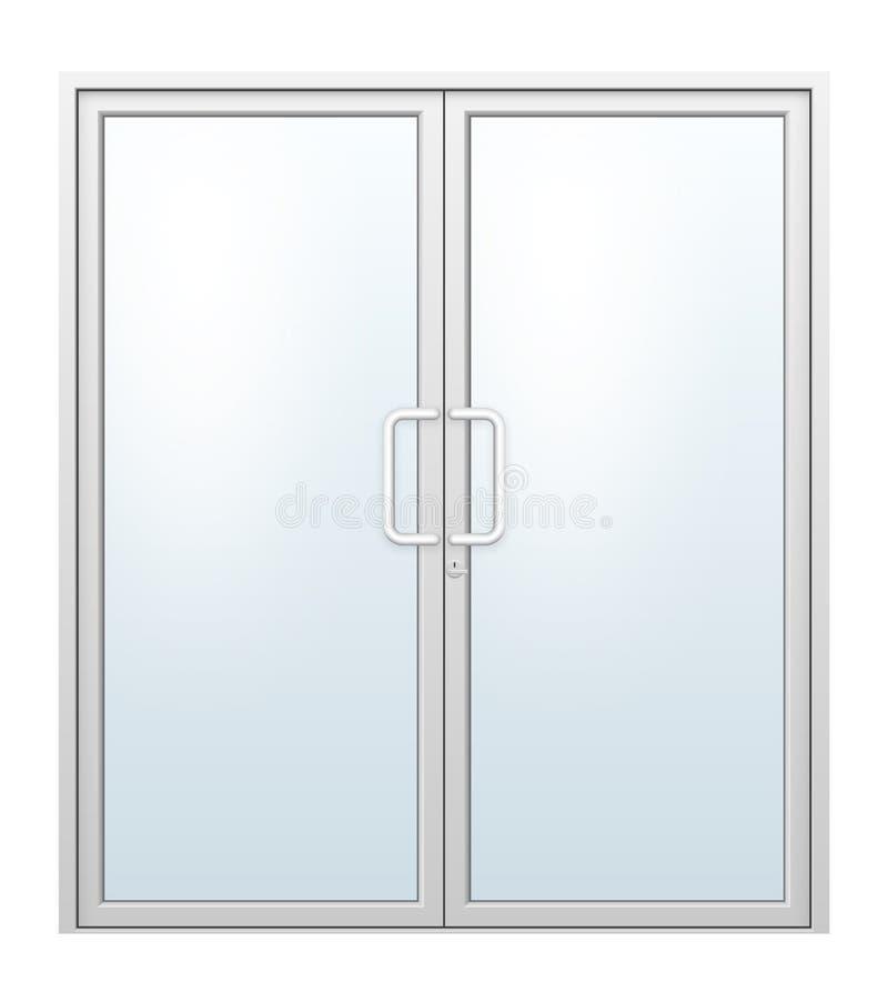 De vector van de aluminiumdeur