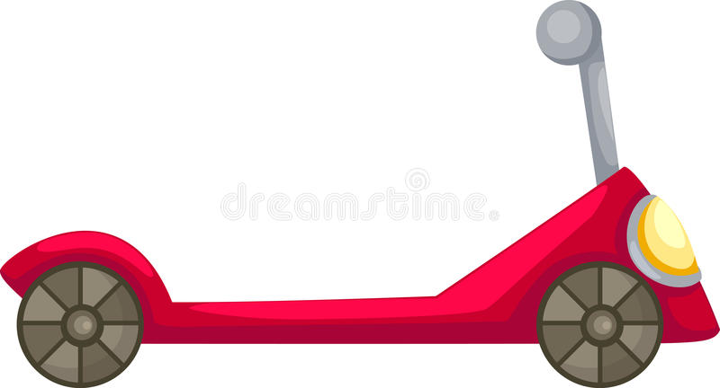 De vector van de autoped stock illustratie