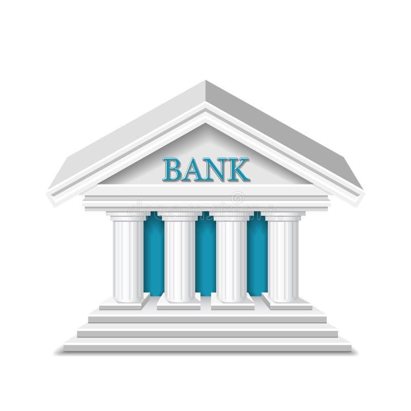 De vector van de bank vector illustratie