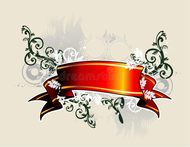 De vector van de banner stock illustratie