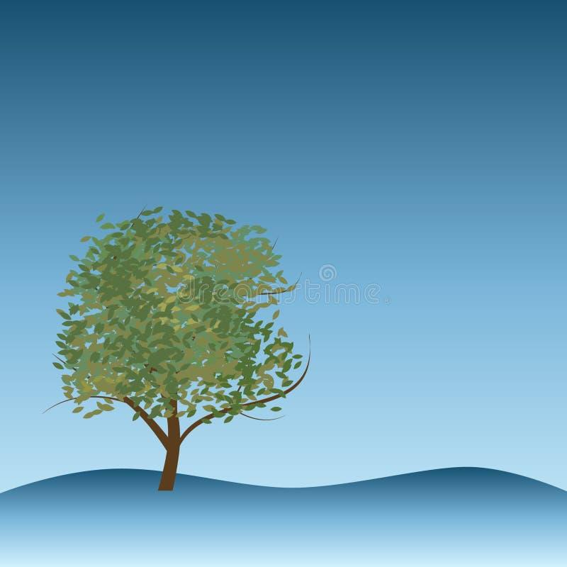 De Vector van de boom stock illustratie