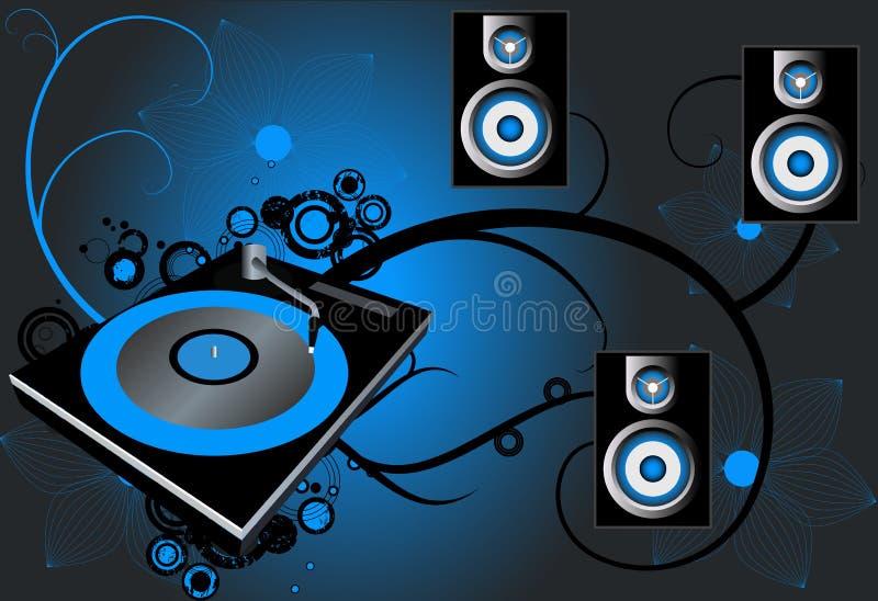 De Vector van de disco stock illustratie