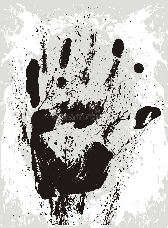 De vector van de hand stock illustratie