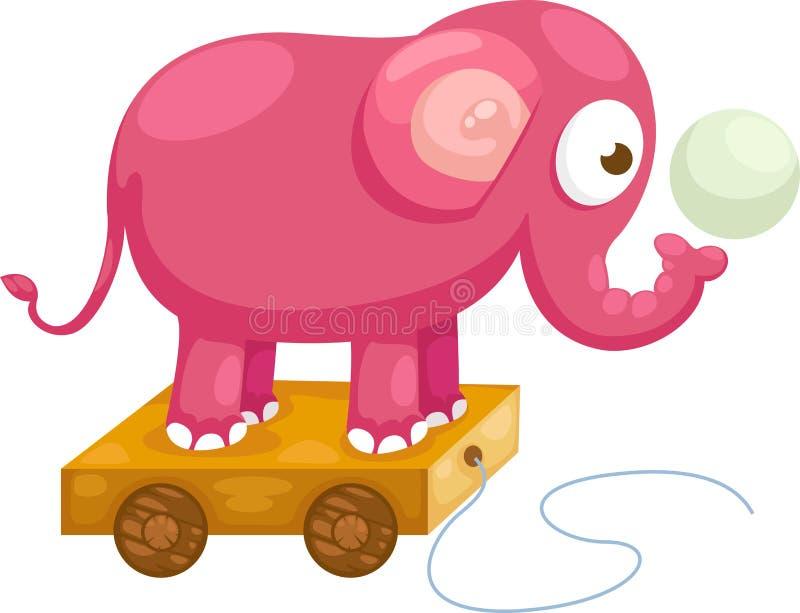 De vector van de olifant royalty-vrije illustratie