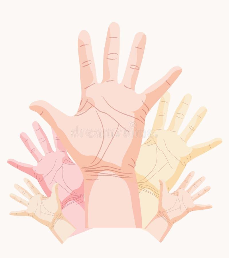 De vector van de palm royalty-vrije illustratie