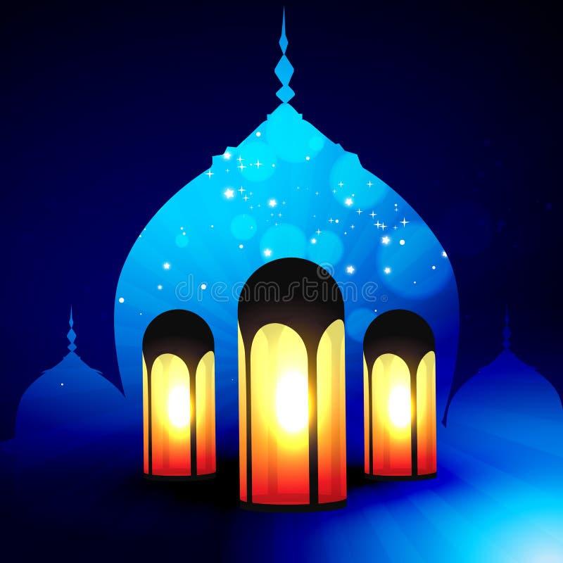 De vector van de Ramadan kareem stock illustratie