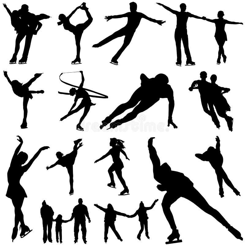De vector van de schaats royalty-vrije illustratie