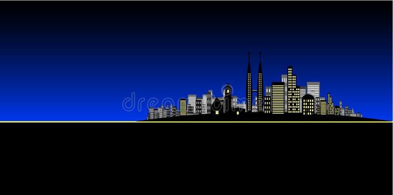 De Vector van de stad royalty-vrije illustratie