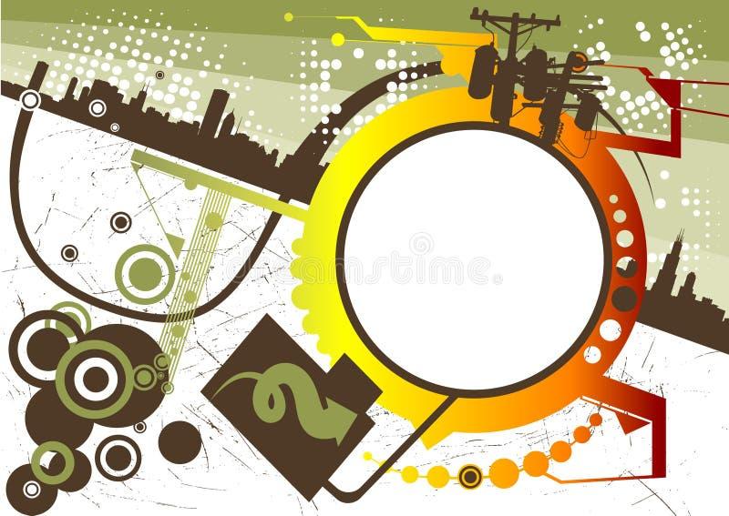 De vector van de stad stock illustratie