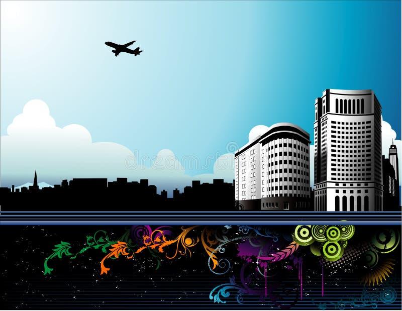 De vector van de stad vector illustratie