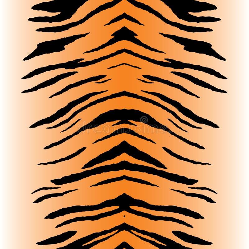 De Vector van de Strepen van de tijger royalty-vrije illustratie
