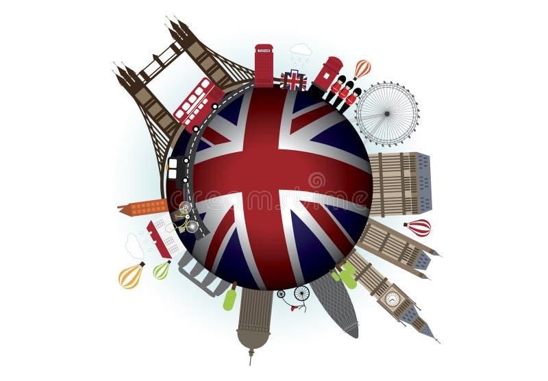 De Vector van Engeland royalty-vrije illustratie